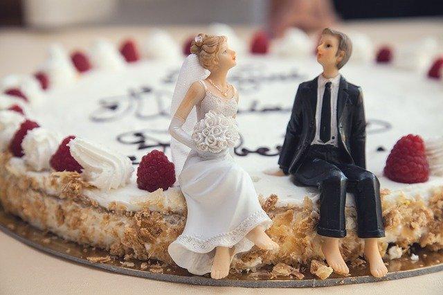 voorbeeld bruidstaart